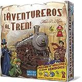 Days of Wonder- Aventureros Español-¡Sube al Tren de la Aventura, Multicolor, Talla Única (DW7281)