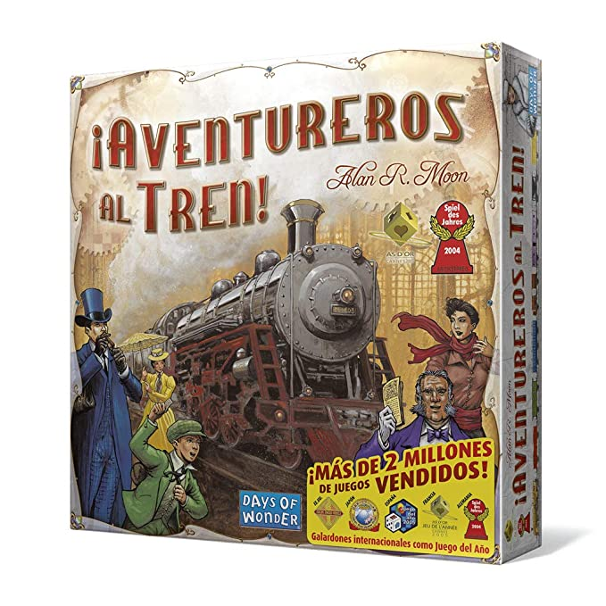 Amazon.com: ¡Aventureros al Tren! Edge Entertainment ...