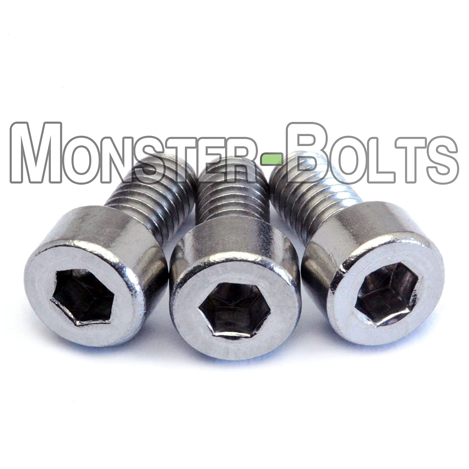Floyd Rose Style Guitar Locking Nut / String Clamp Screws - QTY 3 - Stainless Steel - MonsterBolts 4334247902