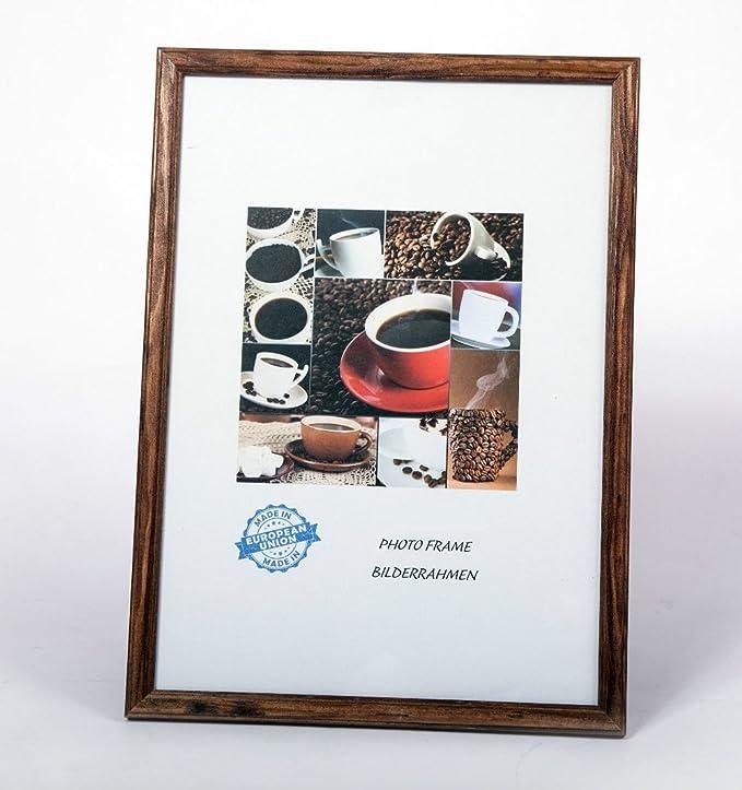 Amazon.de: Bilderrahmen Rahmen Foto EKO Holzrahmen Modern Top ...