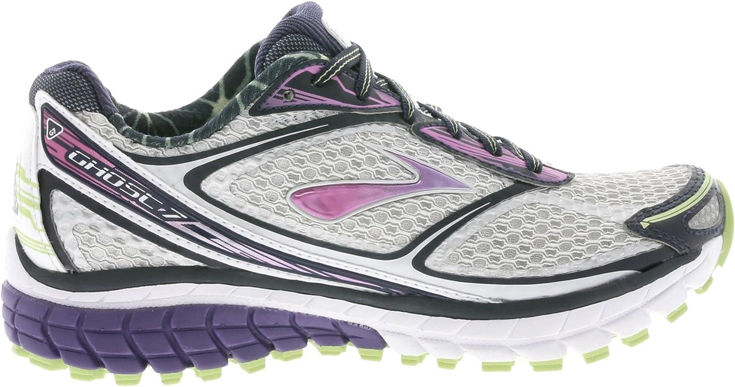 Brooks - Zapatillas de Running de genérico para Mujer weiß/Pink/Lime, Color Gris, Talla 36.5: Amazon.es: Zapatos y complementos