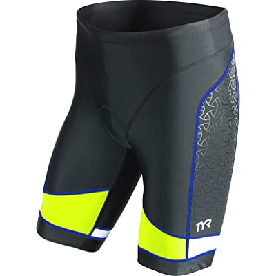 """TYR Men's 9"""" Competitor Triangle Shorts"""