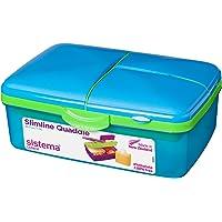 """Sistema Lunchbox """"Slimline Quaddie"""" mit Flasche"""