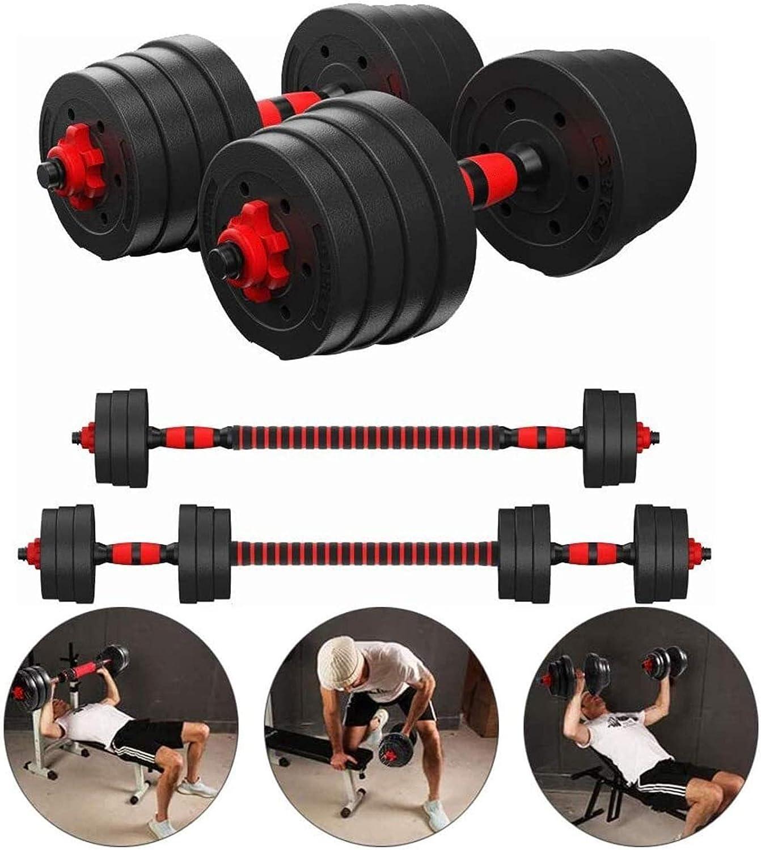 30Kg 40Kg Adjustable Dumbbell Barbell Set Gym Exercise Weights Fitness Training