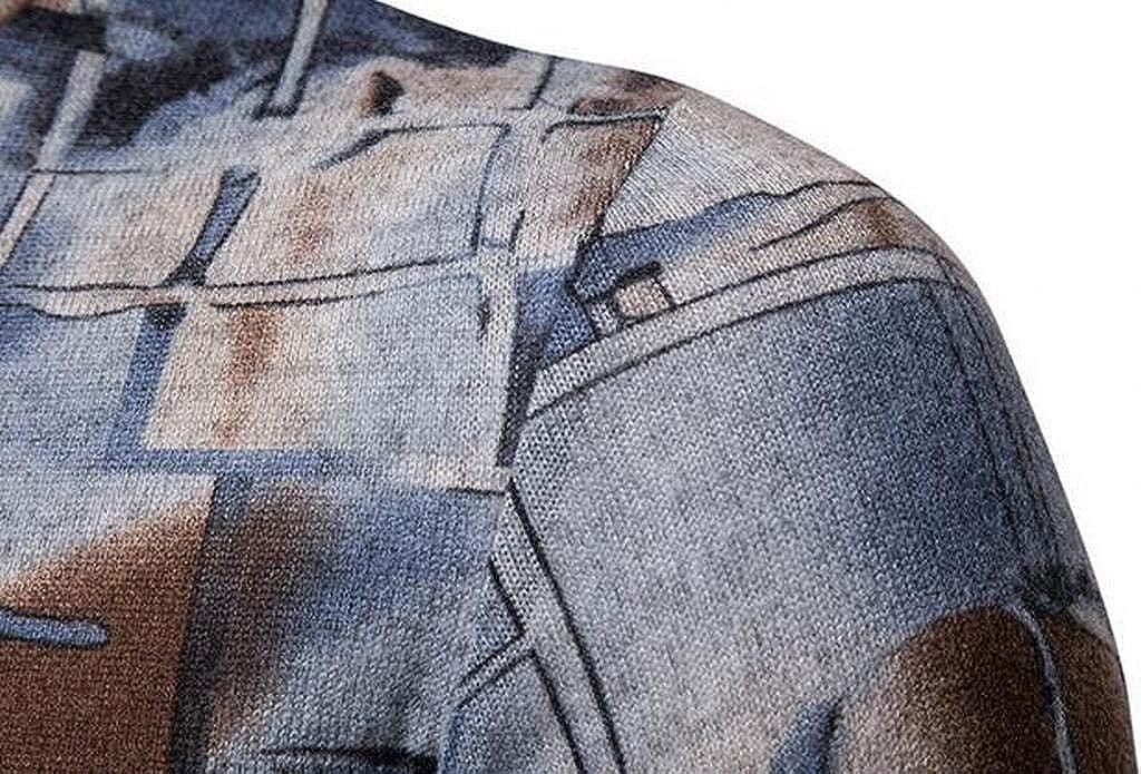 XiaoTianXinMen XTX Mens Thermal Long Sleeve Turtle Neck Warm Slim Fit T-Shirt Tee