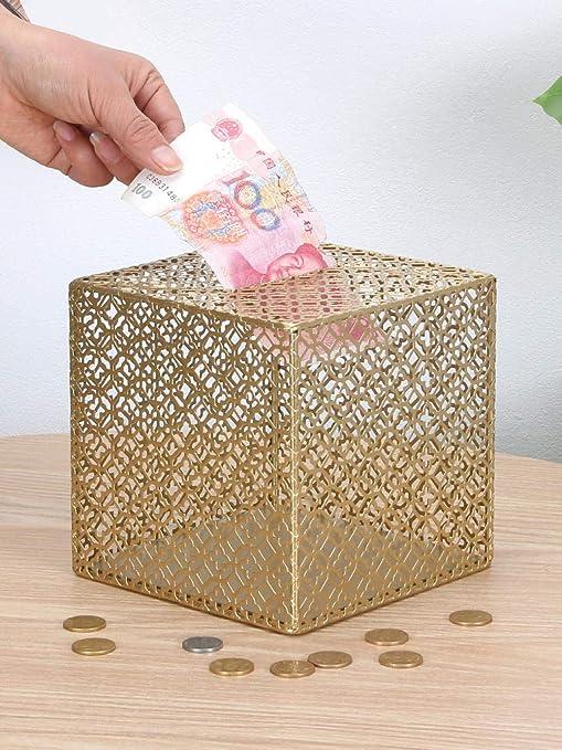 Huchas Hucha Transparente No Puede Abrir La Moneda De Cambio De ...