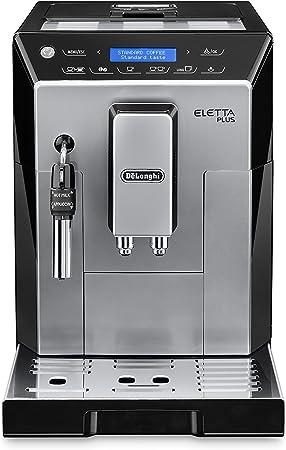 DeLonghi ECAM 44.620.S - Cafetera (Independiente, Máquina espresso, 2 L, Granos de café, De café molido, Molinillo integrado, Negro, Plata): Amazon.es: Hogar