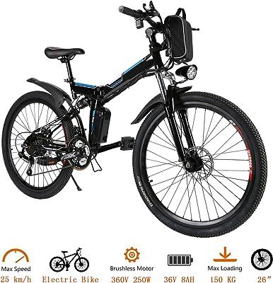 Oppikle Folding Electric Mountain Bike