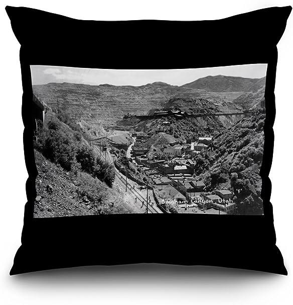 Bingham Canyon, Utah – Antena view de una Mina de cobre ...