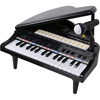 Amazon Com Kiddie Play Electronic 37 Key Toy Piano