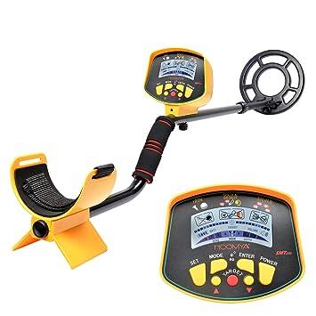 MIDOU Detector de Metales Profesional de Alta sensibilidad a Prueba de Agua subterráneo Búsqueda de Joyas en el Tesoro Pantalla LCD - MD9020C: Amazon.es: ...