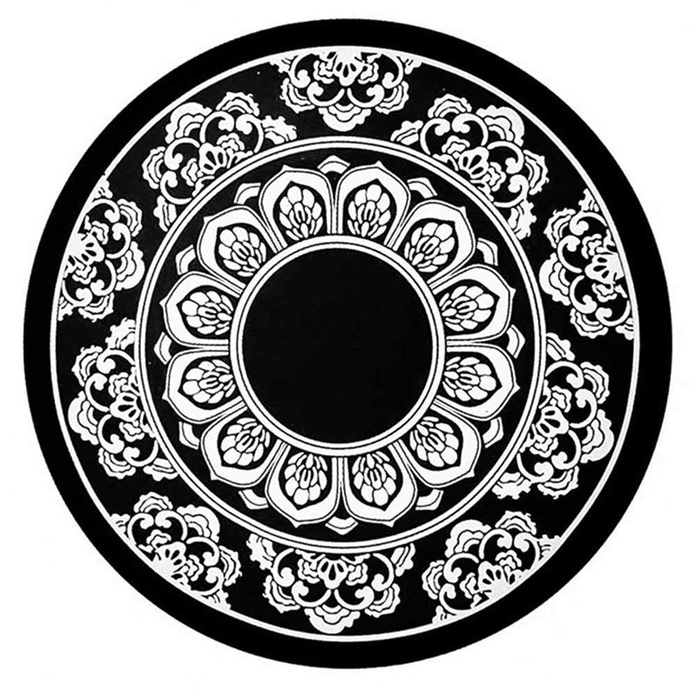 12 * 12 cm Armaturenbrett Antirutschmatte hitzebest/ändig Auto rutschfest Pad f/ür Handys Brillen ZOOENIE Auto Anti-Slip Matte Non-Slip Adhesive Pad Silikon doppelseitige Runde Lotus