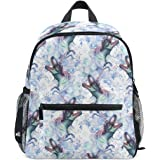 23696a1f30a ZZKKO Animal Dinosaurs Kids Backpack School Book Bag for Toddler Boys Girls