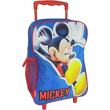 Mochila mickey mouse azul
