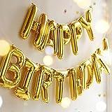 誕生日 飾り付け 風船、Happy Birthday バルーン、パーティー 装飾 風船、バースデー 飾り バルーン HB6G