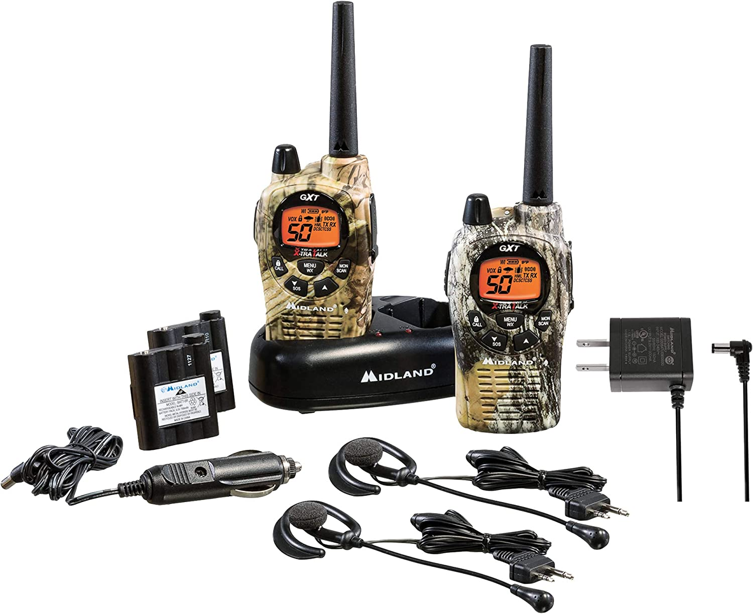 Midland 50 Channel GMRS Two-Way Radio