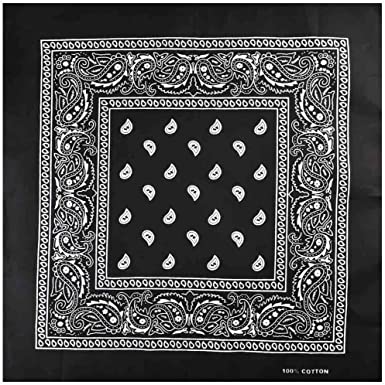 Plain-Red Bandana Scarf Head Scarf Neck Scarf Paisley Various Colours Unisex Men Women Bandana Scarf