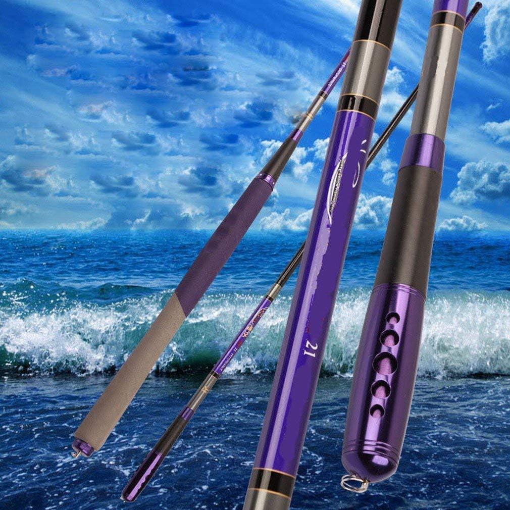 台湾の釣り竿釣り竿3.6-6.3メートル炭素釣り竿釣りギアフナの鯉ポールスーパーハード、4.5メートル