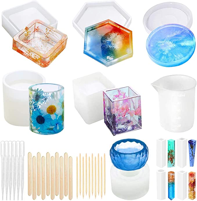 resin mould food chocolate candy epoxy casting jewelry cake soap decoration flexible candle wax melt ice cube Horned God Plastic Mold