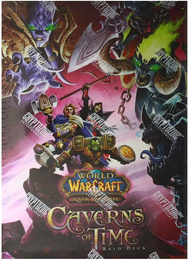 World of Warcraft Raid Deck: The Caverns of Time - Juego de rol (Cryptozoic CZE01525) [Importado de Inglaterra]: Amazon.es: Juguetes y juegos