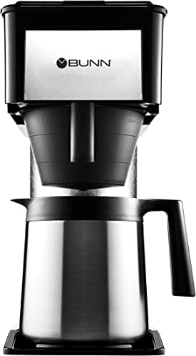 BUNN BTX-B D ThermoFresh High Altitude 10-Cup Home Thermal Carafe Coffee Brewer