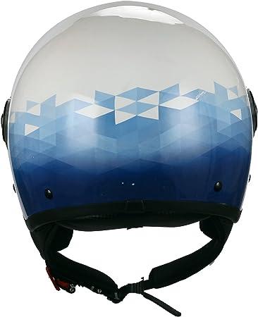 Sky BHR 57721 Casco Moto Demi-Jet Modelo 801 con Linea One XL