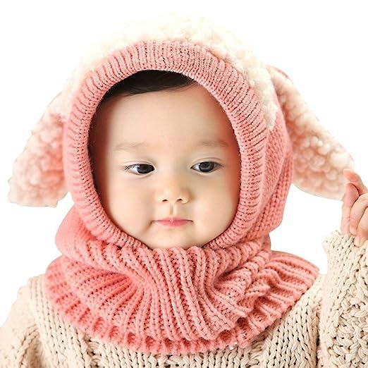 hosaire niños invierno sombrero bebé de punto gorro moda forma de ...