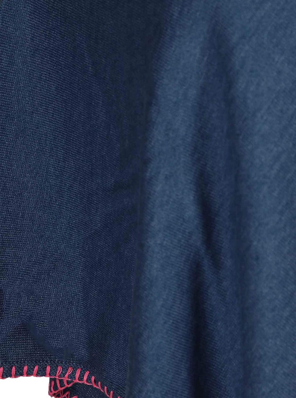 Sweatshirt Strick-Pullover Stola f/ür Fr/ühjahr Sommer Herbst und Winter Zwillingsherz Poncho mit Baumwolle Hochwertiges Cape H/äkelrand f/ür Frauen Damen M/ädchen XXL Umh/ängetuch und Tunika