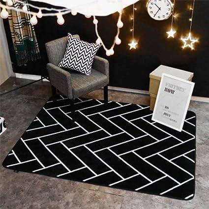 Amazon com: NRQU Padded stripe mat Fashion personality mat