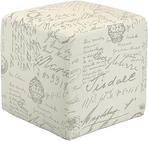 Cortesi Home Braque Cube Ottoman