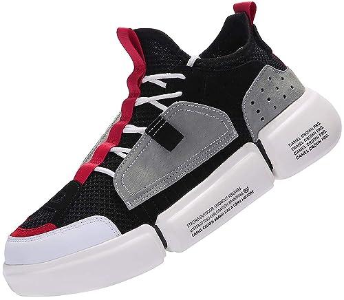 CAMEL CROWN Herren Sportschuhe Leichte Laufschuhe Atmungsaktiv Gym Schuhe Turnschuhe Trainer Outdoor Running Sneaker Shoes Schnürschuhe Mode