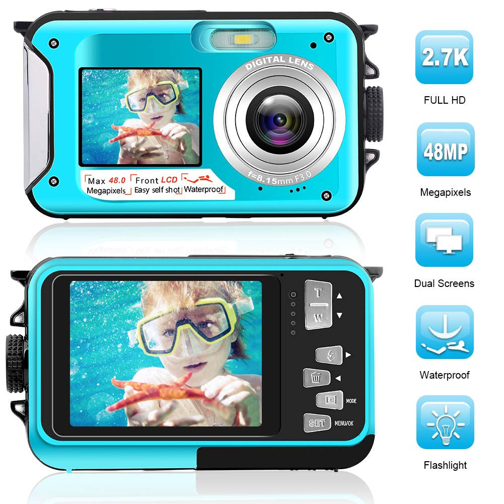 waterproof-digital-camera-full-hd-27k-48-mp-underwater-camera-video-recorder-selfie-dual-screens-16x-digital-zoom-flashlight-waterproof-camera-for-snorkeling