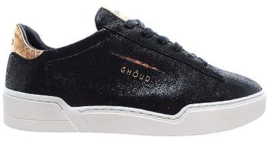 new style b18b1 ab2fe GHOUD Venice Damen Schuhe Sneakers Lob 02 Low Salv Schwarz ...