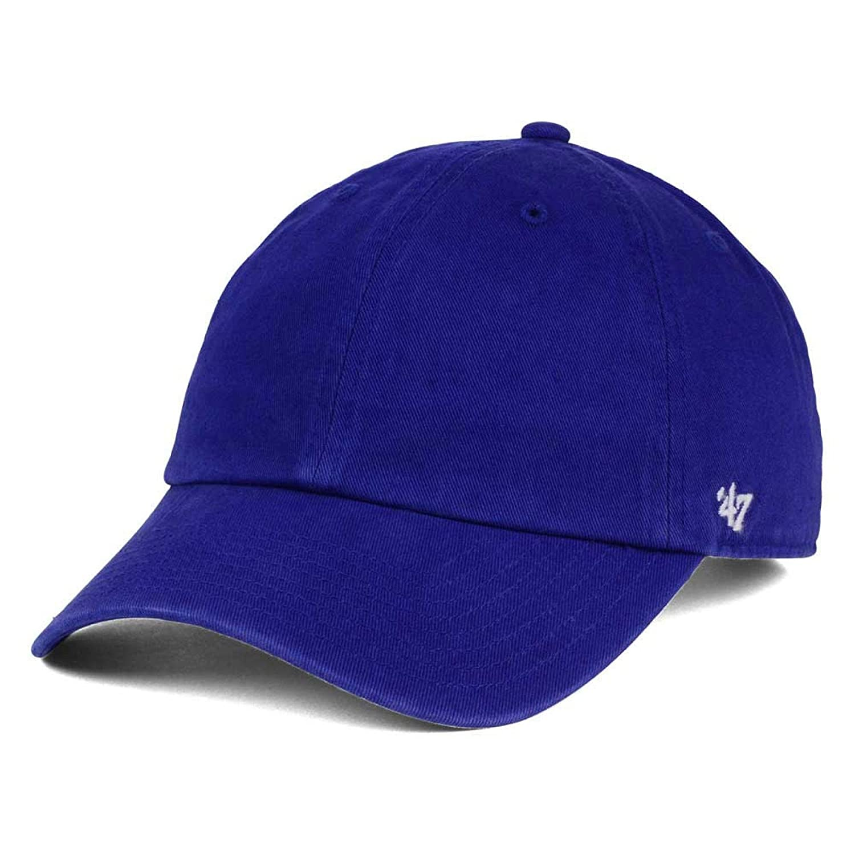 ' 47 Brand Clean Up空白Dad Hat – ロイヤル One-Size / Adjustable  B01MZAU4XF