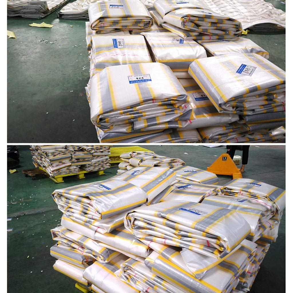 ZJ-Zeltplanen Verdickungs-LKW-Farbenstreifen des Freien Raumes imprägniern Tuchregenvisier-Segeltuchregenpropose Tuchregenvisier-Segeltuchregenpropose Tuchregenvisier-Segeltuchregenpropose (größe   10  12m) B07HRG744B Zeltplanen Moderne Technologie 2eb596