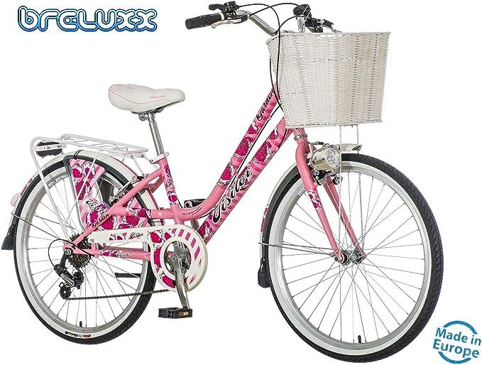 breluxx Venera Fashion Secret Garden - Bicicleta de Ciudad para ...