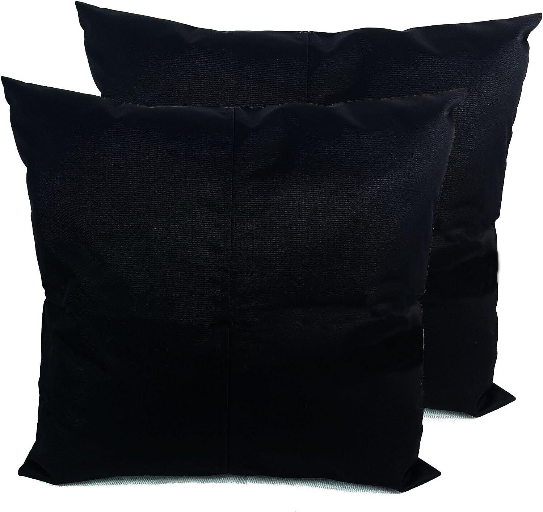 bordeaux 45,7/cm /étanche Garden Housse de coussin Coussins de Chaise Banc dext/érieur 45,7 x 45,7/cm 100//% polyester//polyester