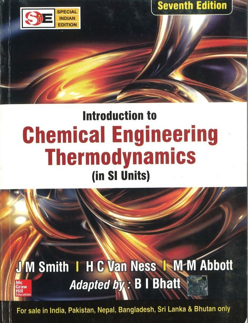 Introduction to chemical engineering thermodynamicssie j m introduction to chemical engineering thermodynamicssie j m smith and hc ness 9780070145870 amazon books fandeluxe Choice Image