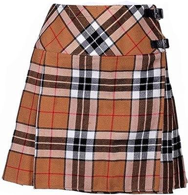 The Scotland Kilt Company Nuevo de Mujer Thomson Camel de Cuadros ...