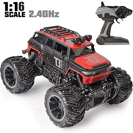 Amazon Com Rc Car Red Beyond Rc Vehicle 1 16 Scale Remote Control