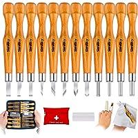 SIMILKY - Juego de 12 herramientas de tallado