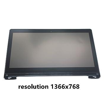 FTDLCD® 13.3 LCD Pantanlla Táctil Digitalizador Asamblea con Marco Reemplazo de Ordenador Portátil