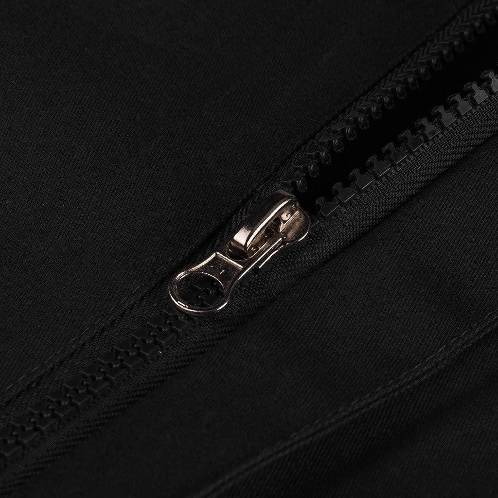 INLLADDY Onepiece Jumpsuit Herren Sommer Kurz Jumpsuit Zipper Kurz Anzug Overall Strampler