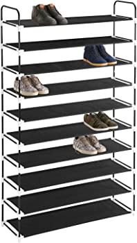 MaidMax 10-Tier Shoe Rack