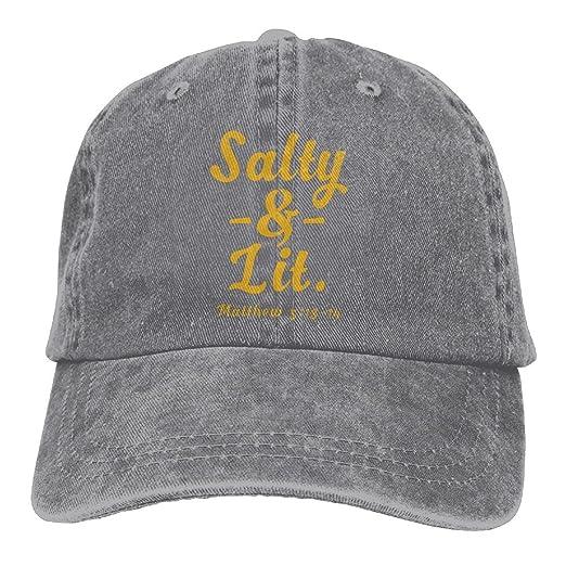461d8ed447e7f Sakanpo Salty   Lit Christian Unisex Cowboy Baseball Caps Dad Hats ...