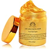One Day Dale! 24K Gold Facial Mask By White Naturals:Rejuvenating Anti-Aging Face Mask For Flawless Skin, Reduces Fine…