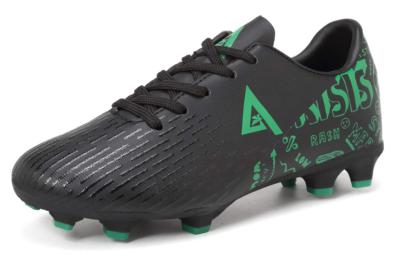 ANLUKE Kids Firm Ground Soccer Shoes