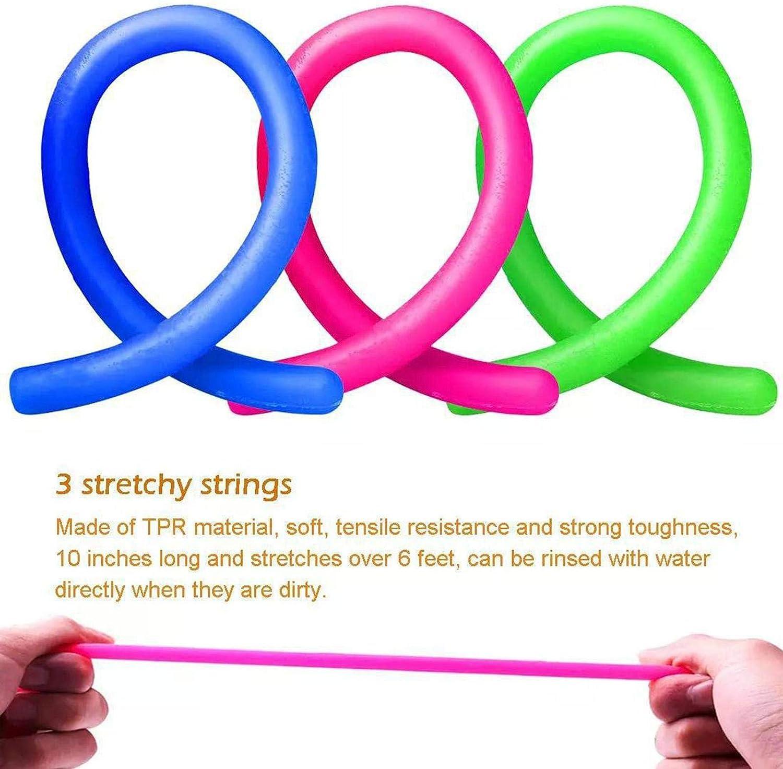 Paquete de 25 Juguetes Sensoriales Fidget Alivia el Estr/és y la Ansiedad Fidget Toy Juguetes de Mano para Aliviar el Estr/és para Ni/ños Paquete de Herramientas para Aliviar el Estr/és y Anti-ansiedad