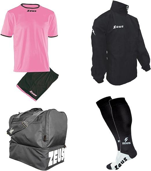 Zeus - Kit de calcetín Adhesivo + Bolsa y K-Way - Futbolín de ...