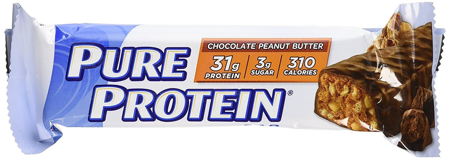 Worldwide Sports Nutrition Pure Protein Bar Chocolate Deluxe – 12 Bars